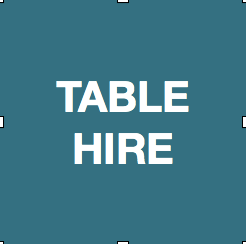 Table Hire - 6ft trestle table