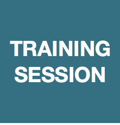 Training Session - Tuesday 21st May